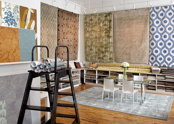 If you are in New York you must visit, Stacy, Kate, Soraya and David at the showroom which is gorgeous and where you can find all of Eskayel's wallpapers ...