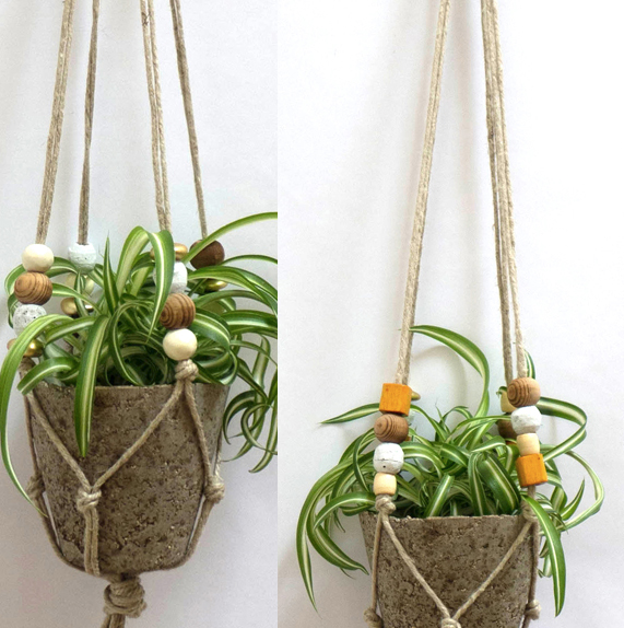 Weu0027re Making Spring Start Now With A Lush And Vibrant Indoor Garden! These Hanging  Planters From Cold Picnic Are Perfect For Adding Some Green Into Your ...