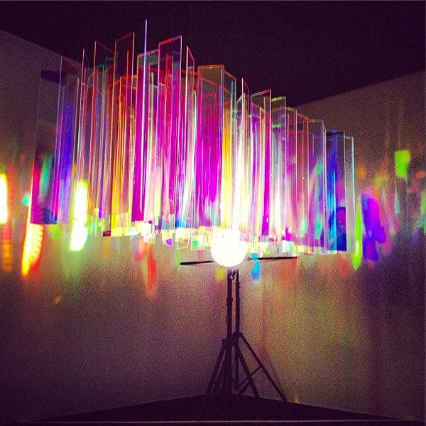 Beautiful Lights From Paris Design Week.