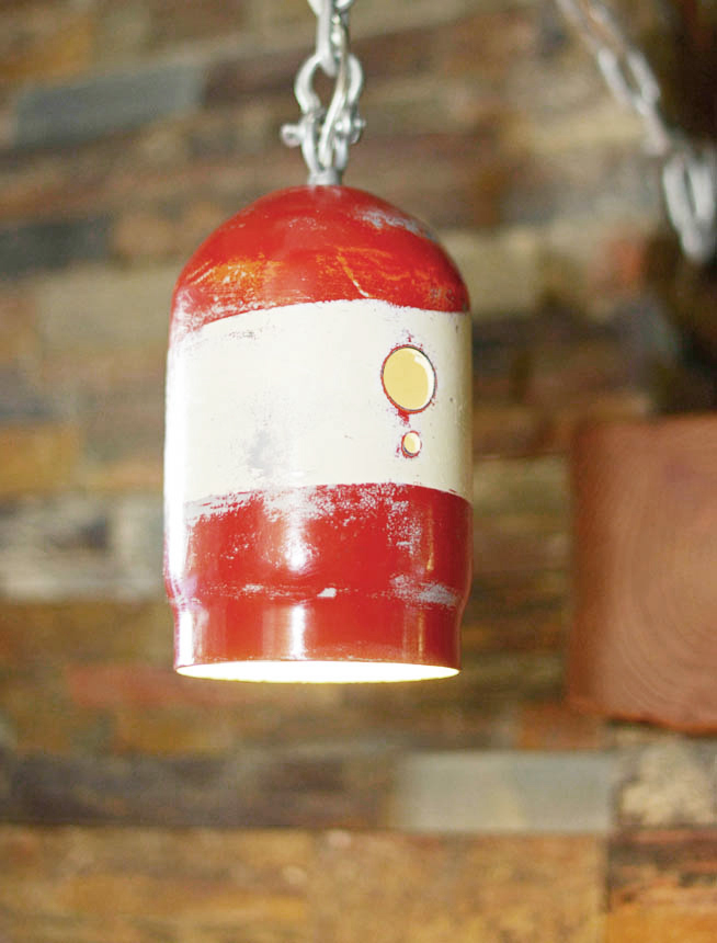 red-pendant-lamp
